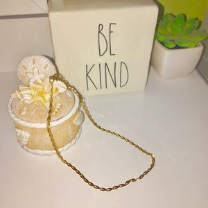 Shein gold choker jewelry necklace